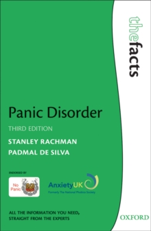 Panic Disorder: The Facts, PDF eBook