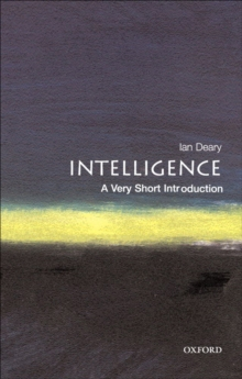 Intelligence: A Very Short Introduction, EPUB eBook