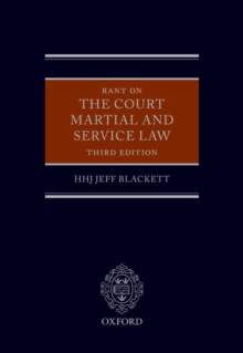 Rant on the Court Martial and Service Law, EPUB eBook
