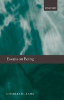 Essays on Being, EPUB eBook