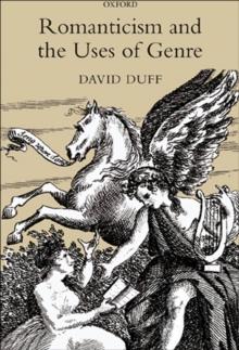 modern genre theory david duff pdf