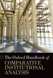 The Oxford Handbook of Comparative Institutional Analysis, EPUB eBook