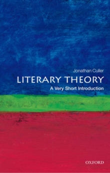 Literary Theory: A Very Short Introduction, PDF eBook