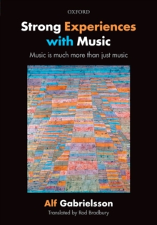 Strong Experiences with Music : Music is much more than just music, EPUB eBook