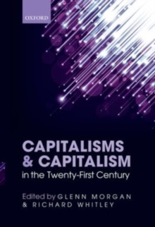 Capitalisms and Capitalism in the Twenty-First Century, PDF eBook