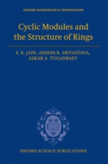 Cyclic Modules and the Structure of Rings, PDF eBook