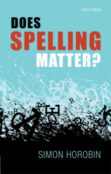 Does Spelling Matter?, EPUB eBook