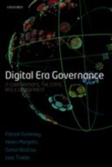 Digital Era Governance : IT Corporations, the State, and e-Government, EPUB eBook