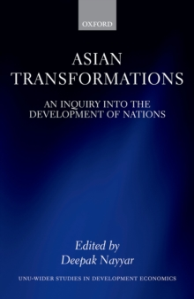 Asian Transformations : An Inquiry into the Development of Nations, EPUB eBook