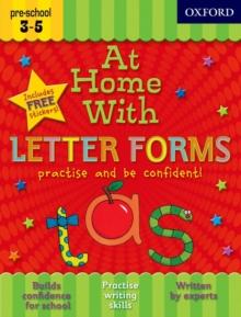 At Home With Letter Forms, Mixed media product Book