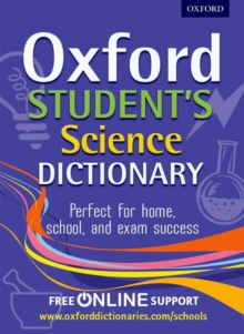 Oxford Student's Science Dictionary, Mixed media product Book