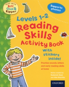 Oxford Reading Tree Read With Biff, Chip, and Kipper: Levels 1-2: Reading Skills Activity Book, Mixed media product Book