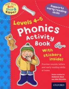 Oxford Reading Tree Read With Biff, Chip, and Kipper: Levels 4-5: Phonics Activity Sticker Book, Mixed media product Book