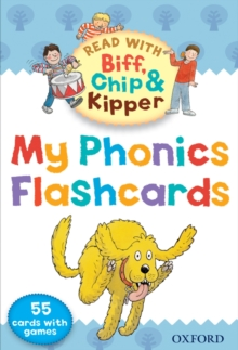 Oxford Reading Tree Read with Biff, Chip, and Kipper: My Phonics Flashcards, Cards Book