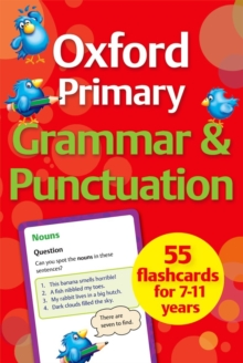 Oxford Primary Grammar & Punctuation Flashcards, Cards Book