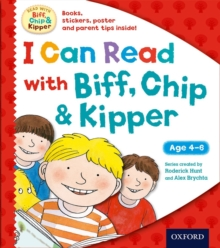 I Can Read with Biff, Chip and Kipper Pack, Mixed media product Book