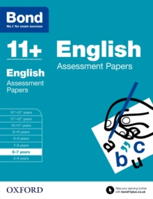 Bond 11+: English: Assessment Papers : 6-7 years, Paperback / softback Book