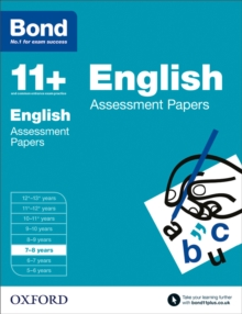 Bond 11+: English: Assessment Papers : 7-8 years, Paperback / softback Book