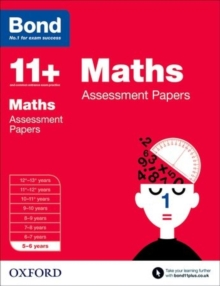 Bond 11+: Maths: Assessment Papers : 5-6 Years, Paperback Book