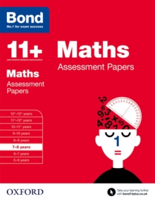 Bond 11+: Maths: Assessment Papers : 7-8 years, Paperback / softback Book