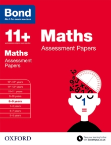Bond 11+: Maths: Assessment Papers : 8-9 years, Paperback / softback Book