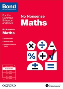 Bond: Maths: No Nonsense : 9-10 Years, Paperback Book