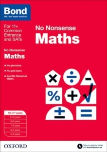 Bond: Maths: No Nonsense : 10-11+ years, Paperback Book