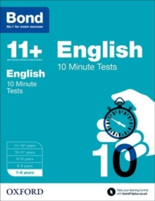 Bond 11+: English: 10 Minute Tests : 7-8 years, Paperback / softback Book