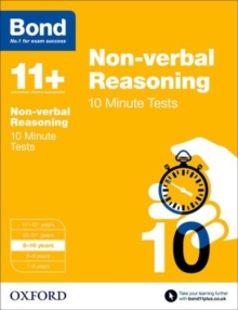 Bond 11+: Non-verbal Reasoning: 10 Minute Tests : 9-10 years, Paperback Book