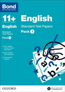 Bond 11 +: English: Standard Test Papers : Pack 1, Paperback / softback Book