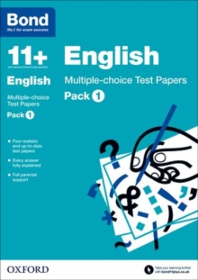 Bond 11+: English: Multiple-choice Test Papers : Pack 1, Paperback / softback Book