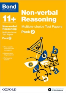 Bond 11+: Non-verbal Reasoning: Multiple-choice Test Papers : Pack 2, Paperback / softback Book