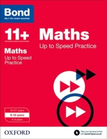 Bond 11+: Maths: Up to Speed Papers : 9-10 years, Paperback / softback Book