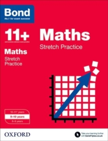 Bond 11+: Maths: Stretch Papers : 9-10 Years, Paperback Book