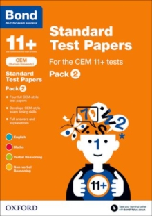 Bond 11+: CEM: Standard Test Papers : Pack 2, Paperback / softback Book