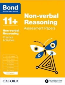 Bond 11+: Non-verbal Reasoning: Assessment Papers : 5-6 years, Paperback Book