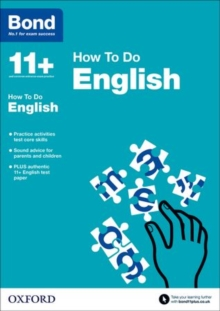 Bond 11+: English: How to Do, Paperback / softback Book