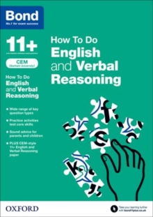 Bond 11+: CEM How To Do: English and Verbal Reasoning, Paperback / softback Book