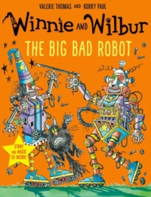 Winnie and Wilbur: The Big Bad Robot with audio CD, Mixed media product Book
