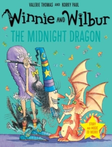 Winnie and Wilbur: The Midnight Dragon with audio CD, Mixed media product Book