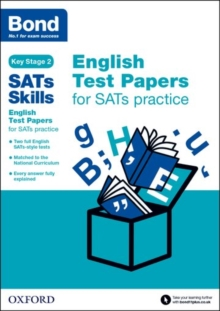 Bond Sats Skills: English Test Papers for Sats Practice, Mixed media product Book