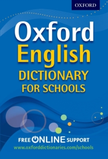 Oxford English Dictionary for Schools, Mixed media product Book