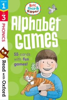 Read with Oxford: Stages 1-3: Biff, Chip and Kipper: Alphabet Games Flashcards, Cards Book