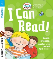 Read with Oxford: Stage 1: Biff, Chip and Kipper: I Can Read Kit, Mixed media product Book