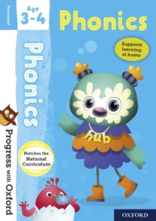 Progress with Oxford: Phonics Age 3-4, Mixed media product Book