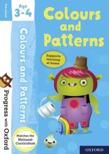 Progress with Oxford: Colours and Patterns Age 3-4, Mixed media product Book