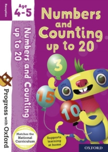 Progress with Oxford: Numbers and Counting up to 20 Age 4-5, Mixed media product Book