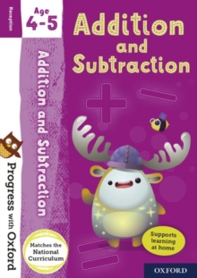 Progress with Oxford: Addition and Subtraction Age 4-5, Mixed media product Book