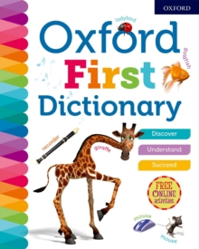 Oxford First Dictionary, Hardback Book