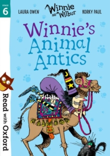 Read with Oxford: Stage 6: Winnie and Wilbur: Winnie's Animal Antics, Paperback / softback Book
